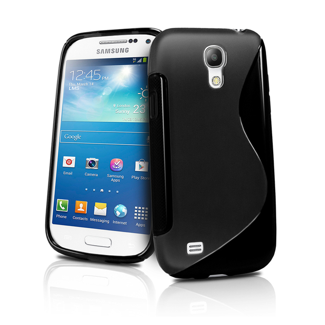 Free shipping 10pcs/lot soft TPU skin case for samsung galaxy s4 mini gt-i9190, TPU Gel silicone case cover for i9192 i9195 LTE