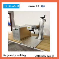 high quality 20w 30w laser marking / engraving machine for mobile phone housing mopa color laser marking machine