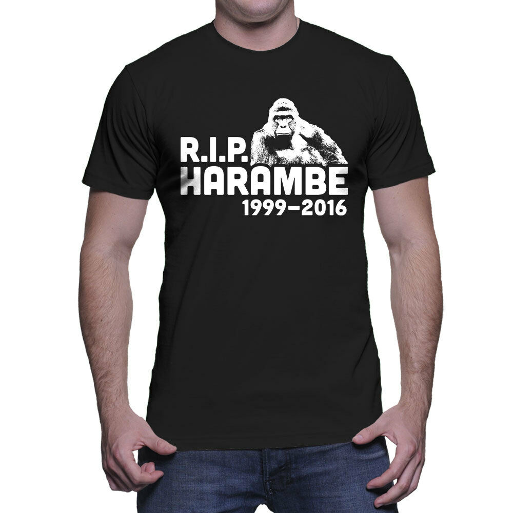 Harambe Camiseta Rip 1999 Memoria Hombre 2016 Gorila TKJFu1c3l