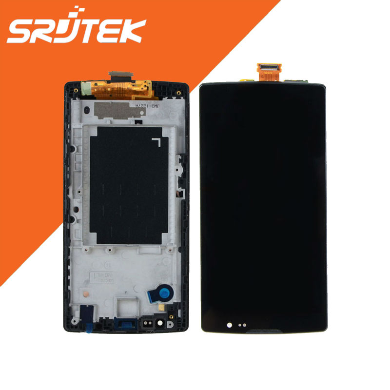 ФОТО Black 4.7'' For LG Spirit H440 H442 H420 H440N c70 H422 Lcd Display + Touch Screen +Frame Assembly replacement Parts
