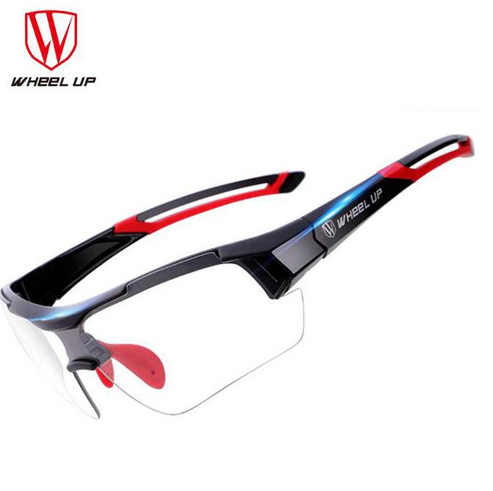 WHEEL UP Photochromic Polarized Cycling Bicycle Glasses Discoloration Riding Fishing Goggles Bike Sunglasses UV400 Eyewear