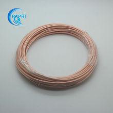 1meters 5meters 10meters  1.5mm2 19strands*0.32mm  Teflon Shield High Purity OCC Copper wire audio DIY Amplifier WAG 15-WAG 16