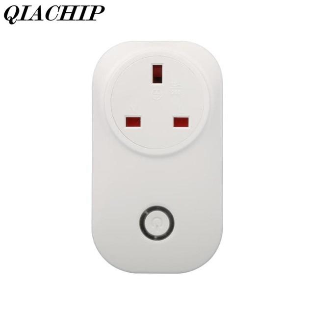 WiFi Smart Home Light Switch EU Plug 220V Outlet Control App Voice ...