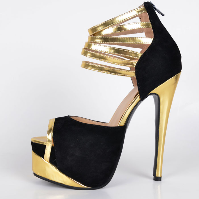 Online Buy Wholesale ladies platform shoes online from China