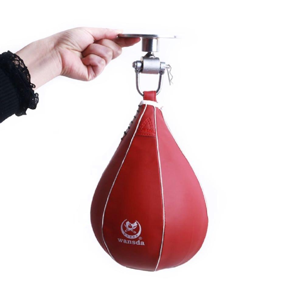 Peşəkar Boks Sürət Top Dırnaqlı Armud Punching Fitness Boks - Fitness və bodibildinq - Fotoqrafiya 6