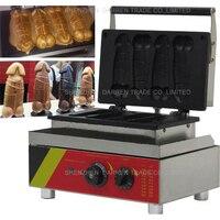 1pc Electric Hot Dog Penis Waffle Maker Machine Baker Iron ,1 5min For One Tray (4pcs one tray ),NP 520 110v/ 220v