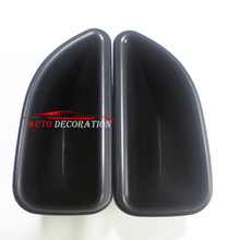 For  Renault Captur 2014 2015 2016    Car styling Interior Front Door Storage Pallet Box Container Cover 2pcs