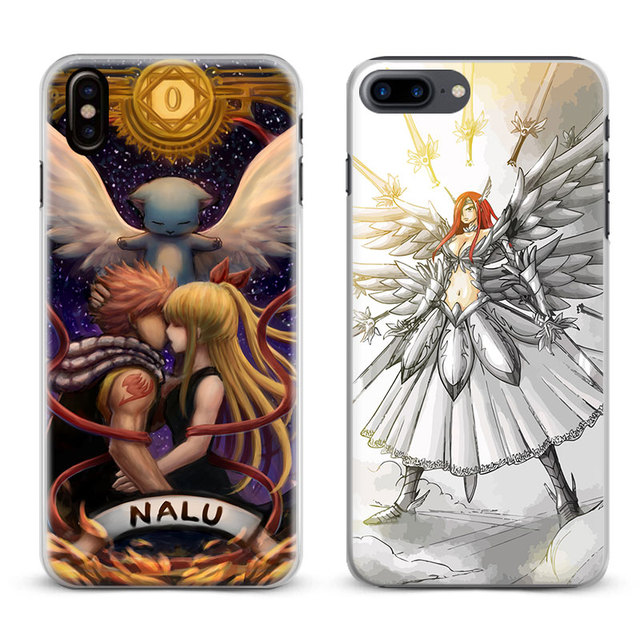 coque iphone 8 plus fairy tail