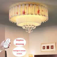 T K9 Crystal Ceiling Light Sweety Circular Acylic Lamps For Bedroom Study Room Home Lighting Children
