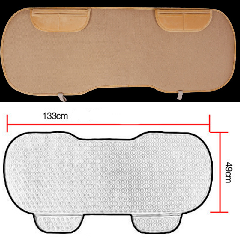 Image 4 - Car Seat Coves Protector Mat Auto Rear Seat Cushion Fit Most Vehicles Non slip Keep Warm Winter Plush Velvet Back Seat Pad-in Automobiles Seat Covers from Automobiles & Motorcycles