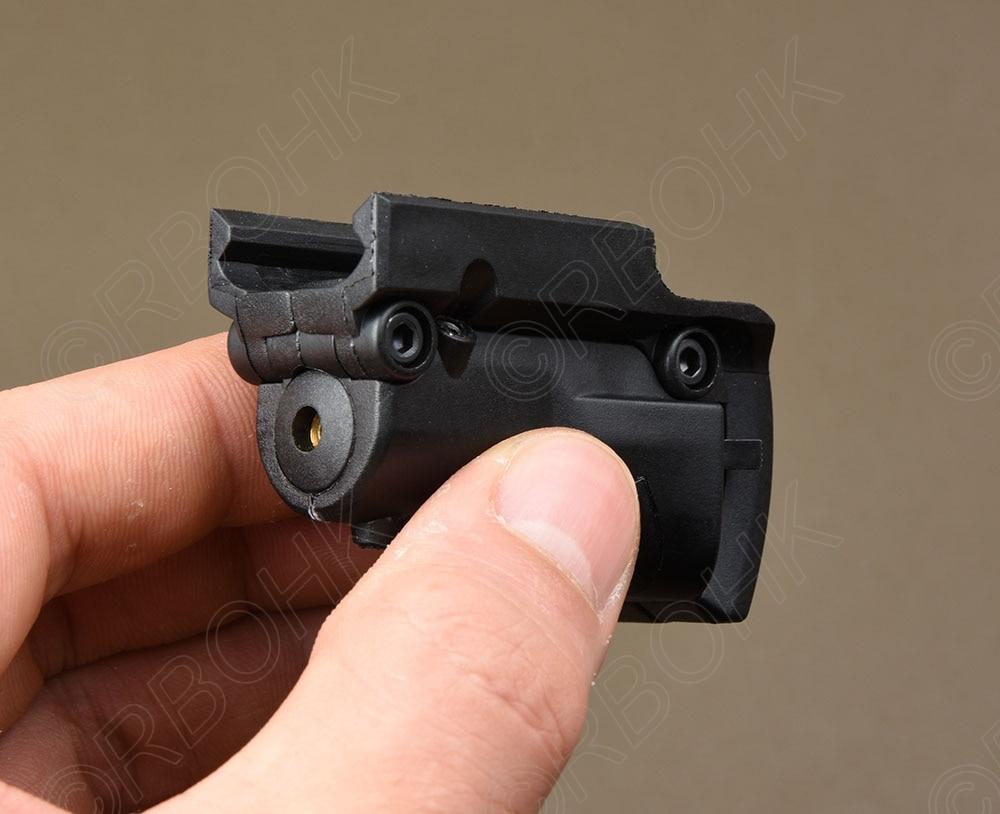 Tactical Pistol Red Dot Laser For Glock 17 22 23 25 27 28 43 Rear Sight M3413-1