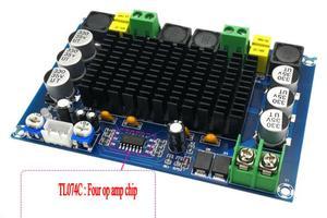 Image 3 - TPA3116D2 150W * 2 Dual Channel Stereo High Powerเครื่องขยายเสียงดิจิตอลบอร์ดTL074C OPAMP