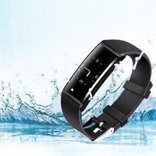 Водонепроницаемый smartwatch Браслет Детские умные часы телефон Функция Фитнес браслет сердечного ритма Мониторы шагомер