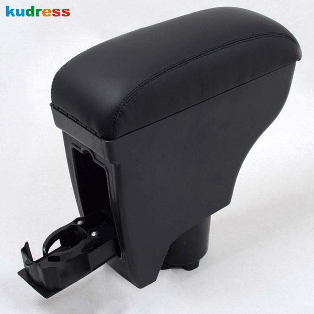 Pour toyota yaris vitz belta 2005 2011 accoudoir center console noir en cuir accoudoir int rieur