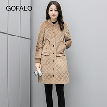 GOFALO 2017 Winter jacket women cotton winter coat Hot Sale Long Parka Fashion Womens Clothing Female jaqueta feminina invern