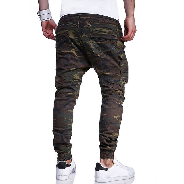 Harem Camo Cargo Pants