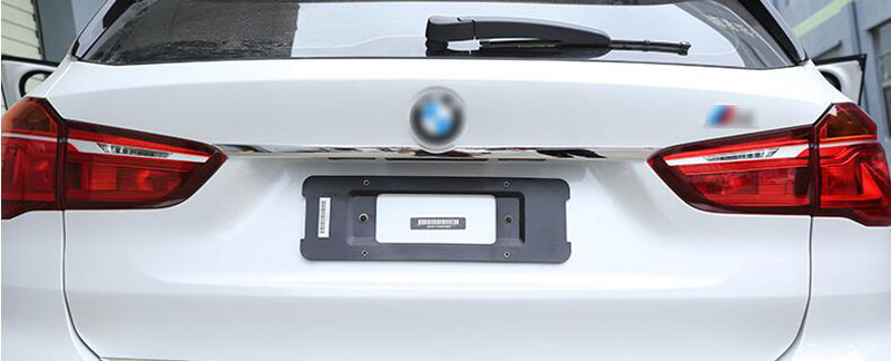 New!! 1pc Chrome Stainless Steel Rear Trunk Lid Strips Cover Trim For BMW X1 F48 2016-2017 Car Styling high quality chrome trunk lid edge trim for honda accord euro 08 up free shipping brand new