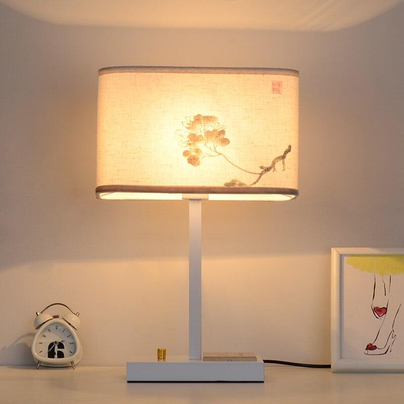 Здесь продается  Modern Bedside Bedroom Wooden Table Lamp Light AC 110V/220V European-style Creative Personality DIY Table Light For Living Room  Свет и освещение