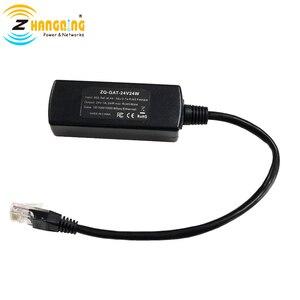 Image 2 - 48 V naar 24 V PoE Converter 24 V 24 W Voor MikroTik 24 V Routerboard PoE Apparaat 48 V om 24 V van 802.3af