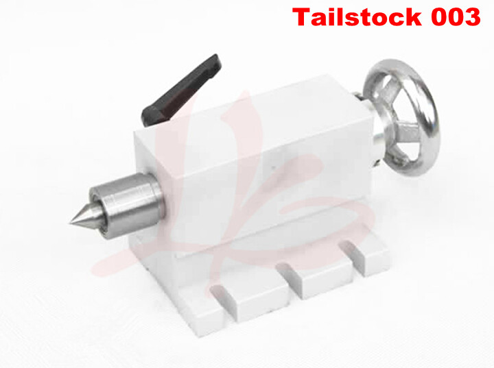 CNC Tailstock for Rotary Axis, A Axis, 4th Axis, CNC Router Engraver Milling Machine cnc 5 axis a aixs rotary axis three jaw chuck type for cnc router