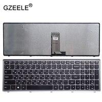 GZEELE 새로운 러시아어 키보드 RU 레노버 Z710 U510 노트북 키보드 프레임
