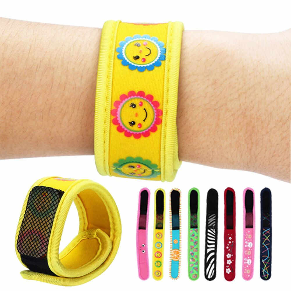 Anti Mosquito Bug Insect Repellent Bracelet Wrist Band 2 Repellent Radiation Photocatalyst Pest Control Adult Children Running