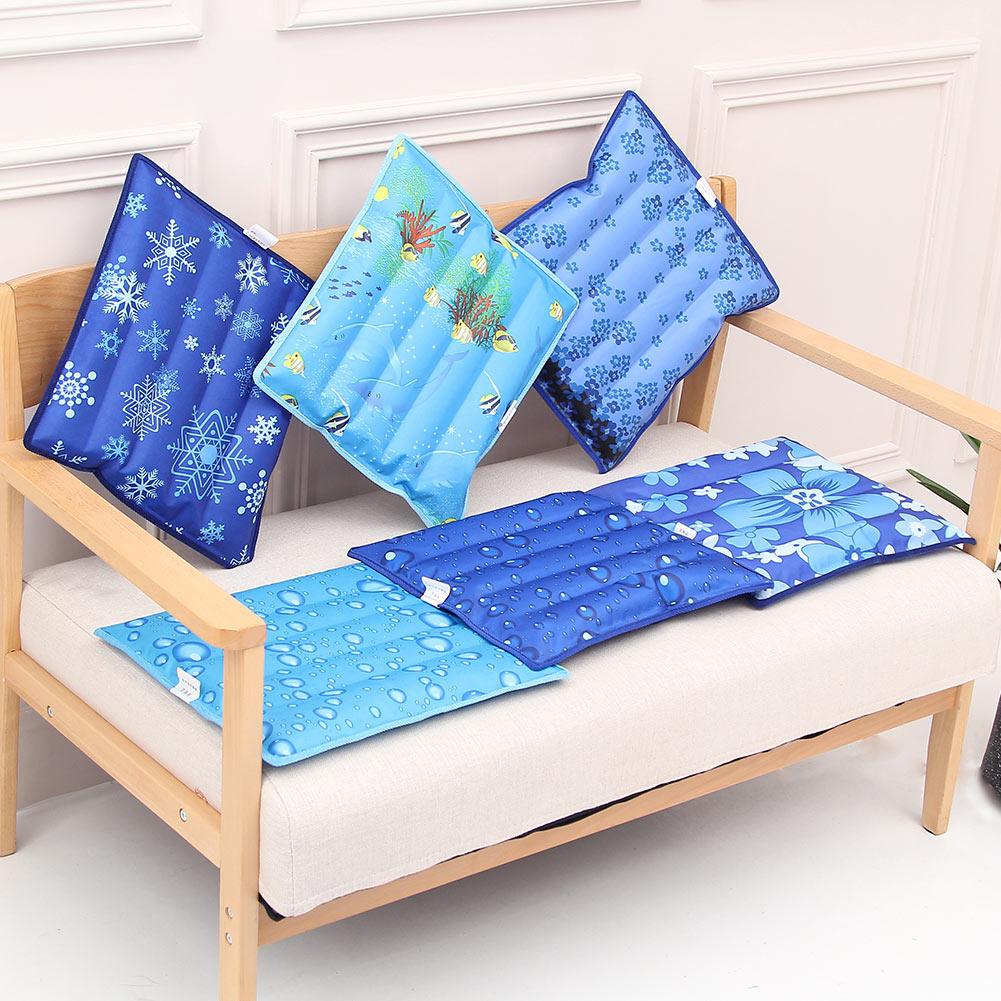 Summer Cooling Cushion Water Ice Pad Pet Cooler Water Injection Car Seat Cushion Cuscino Per Cuscino Di Ghiaccio HTQ99