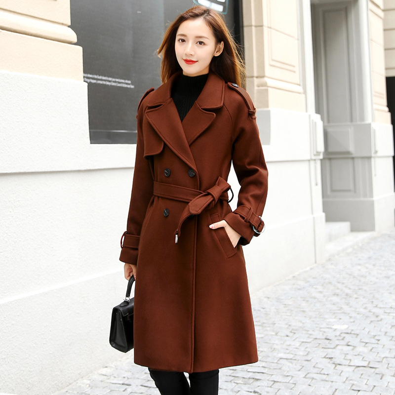 Adibo Long Spring Coat Women Winter And Autumn Jacket Manteau Femme Slim Womens Winter Coats And Jackets Casacos De Inverno 8 adibo winter jacket women winter coat manteau femme womens winter jackets and coats plus size with large collar casaco 098