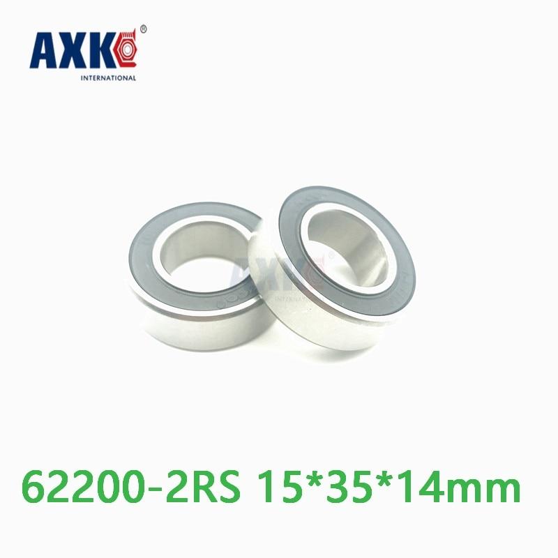 Axk High Quality Deep Groove Ball Bearing 62202-2rs 15*35*14 MmAxk High Quality Deep Groove Ball Bearing 62202-2rs 15*35*14 Mm