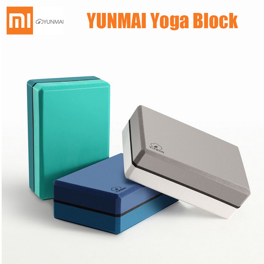 2pcs/lot Xiaomi Youpin Yunmai High Density Brick Yoga Fitness Body Shaping Safe Odorless Brick for New Yoga Learner-in Smart Remote Control from Consumer Electronics