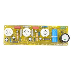 Image 4 - AIYIMA 6N1 + 6P1 Valvola di Bordo Amplificatore Stereo Tubo A Vuoto Amplificatori Filamento di CORRENTE ALTERNATA di Alimentazione + 3 pz Tubi