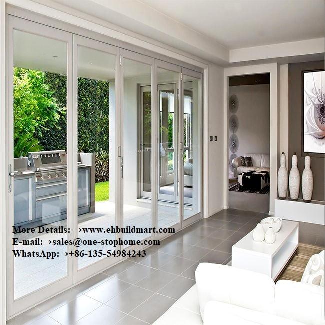 Black Aluminum Interior French Doors,french Doors,glass House Doors,entrance Door