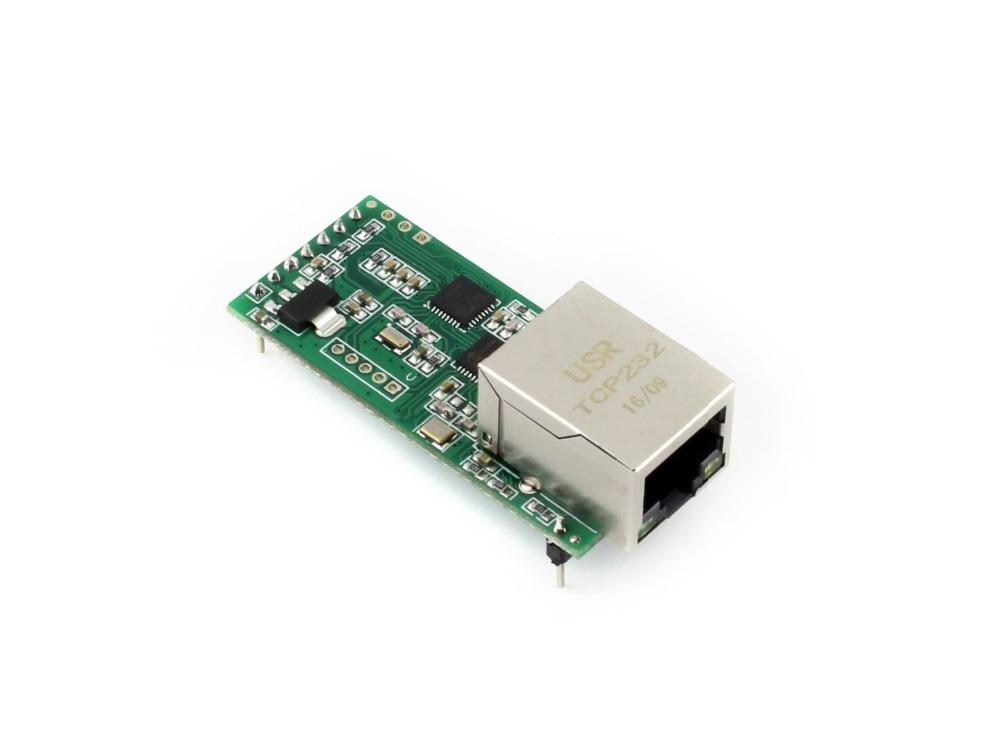 Waveshare UART TTL To Ethernet Converter Module M0 Series 32-bit ARM Processor 10/100M Auto-MDI/MDIX Ethernet Interface