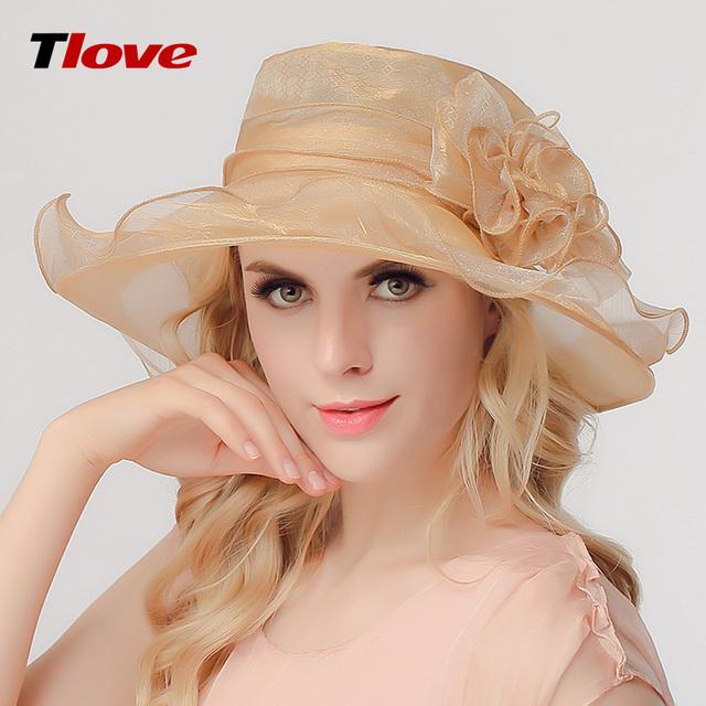2016 Nuevo Estilo Coreano de La Manera Señora Sombrero de Sol Mujeres Ocio Primavera UV verano Sol Casquillo Gorra de Ala Ancha Femenina Británica B-3160