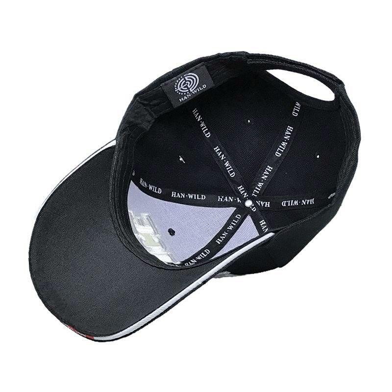 487f5141a27  HAN WILD  Brand Unisex Police Baseball Cap Tactical Men Caps Canvas  Adjustable Letter Feminino Bones Masculino Curved Peak Hat-in Baseball Caps  from ...