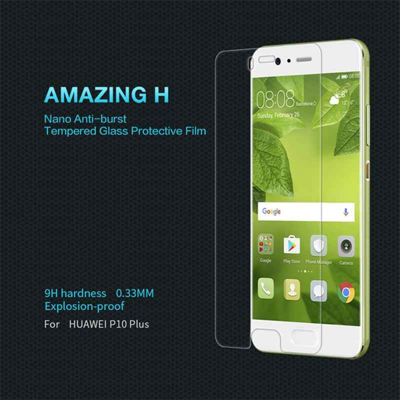 NILLKIN Amazing H 0.3mm 9H Tempered Glass for Huawei P10 Plus Screen Protector for Huawei P10 Plus Dual Sim Protective Film