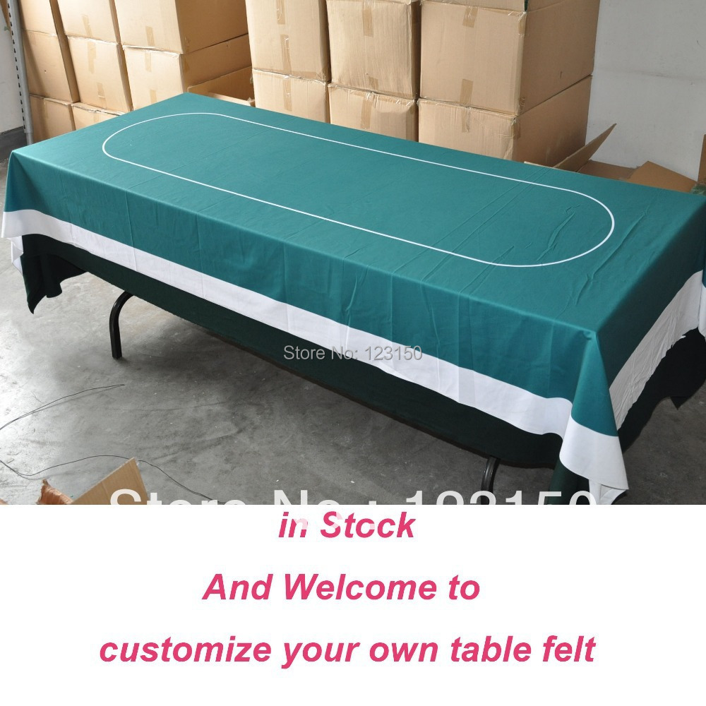 WP 015 Professional Water Resistant Poker Table Cloth, Stock For Promotion  Free Shipping(