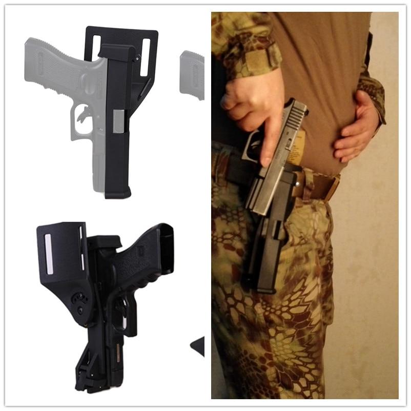EmersonGear, modelo competitivo IPSC, cinturón táctico Harnes de cintura de liberación rápida, funda para Glock 17/19/22/23 31 32 34 35 37 38