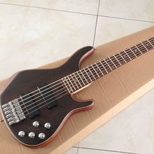 High quality 6strings electric bass guitar active pickups  solid rosewood top