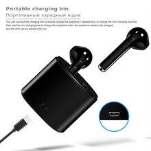 ISKAS Bluetooth Earphones Music Auriculares Wireless Cell Phones Bass Electronics Mini 5.0 TWS I7S Handsfree