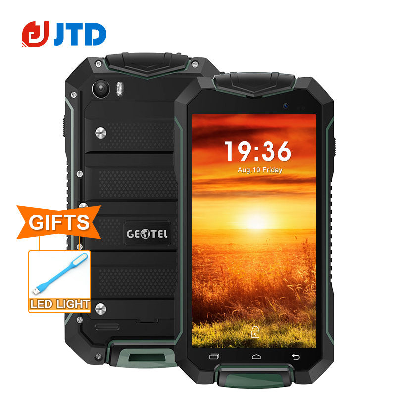 "Original GEOTEL A1 Smartphone Android 7.0 MT6580 Quad Core 4.5"" ROM 8GB RAM 1GB IP67 Waterproof 3400mAh Long Standby CellPhone"