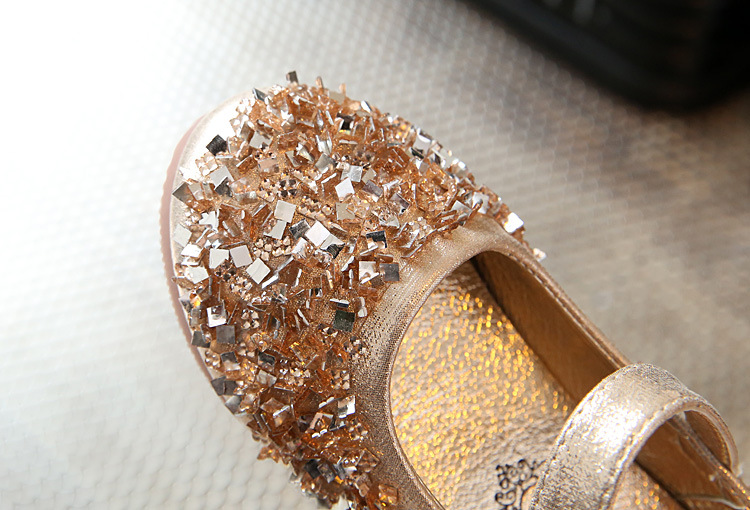 Gold-Girls-Kids-Childrens-Rhinestones-leather-Princess-Sandals-dance-Wedding-Dress-Shoes-Party-Shoes-for-girls-35-5