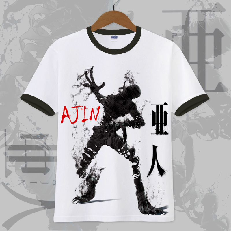 New Anime Ajin T shirt Kei Nagai Cosplay T shirt Summer cotton Short Sleeve Tees-in T-Shirts from Men's Clothing on AliExpress - 11.11_Double 11_Singles' Day 1