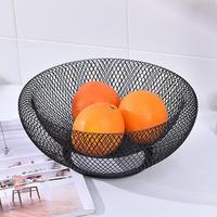 Pokich Metall Mesh Kreative Obstkorb Stand für Küche Restaurant Große Dekorative Tabellenmittel Halter für Brot Ei-in Geschirr & Platten aus Heim und Garten bei