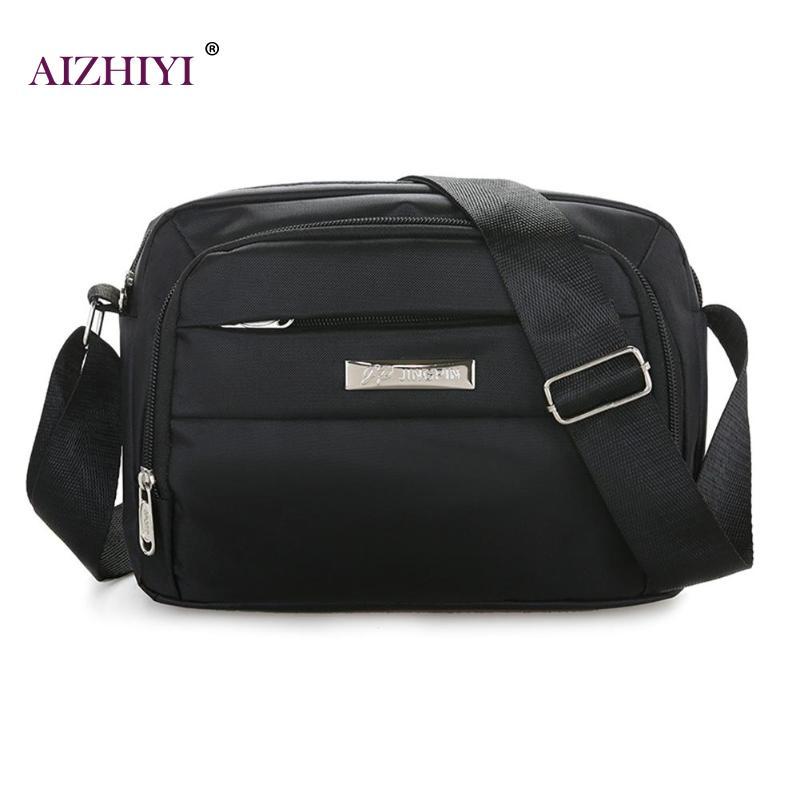 Women Fashion Crossbody Bags Female Casual Simper Nylon Zipper Wide Shoulder Strap Messenger Bags(China)