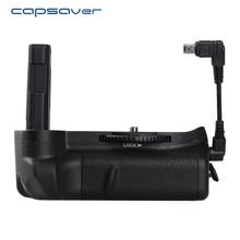 Capsaver мульти-Мощность вертикальный Батарейная ручка для Nikon D5100 D5200 D5300 DSLR Камера Профессиональный Батарея держатель работать с EN-EL14