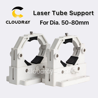 Co2 Laser Tube Holder Support 50 80cm For 50 180W Laser Engraving Cutting Machine Model A