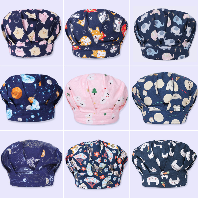 Sanxiaxin Hospital Surgery Cap Operating Room Pet Doctor Dental Nurse Hat Medical Doctor Lab Hat Surgical Scrub Cap Surgical Hat