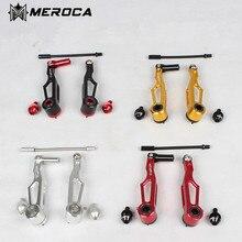 Buy v238 CNC folding bike short leg V brake ultralight V brake clamp caliper
