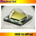 TOP CREE U2 XML LED 10 W LED Chip Emissor/lâmpada 1100Lm Branco lanterna para DIY
